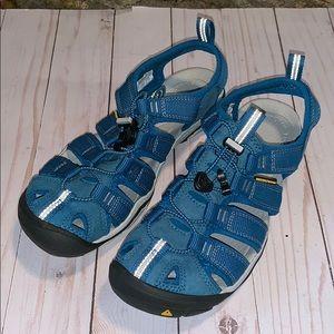 Keen NEW turquoise waterproof 7 sandals